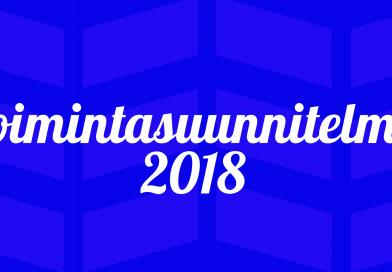 Oulujoen Kokoomuksen toimintasuunnitelma 2018