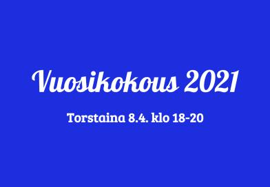 Vuosikokous 2021